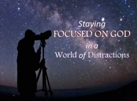Stay Focused On God In A World Of Distractions- James Philip Koshy, Muscat